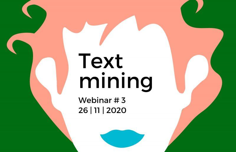 Terugkijken: het webinar Text mining